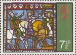 Christmas 1971 7.5p Stamp (1971) Ride of the Magi