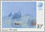 Birth Bicentenary of J.M.W. Turner (painter) 10p Stamp (1975) 'St Laurent'