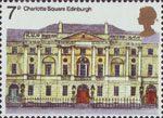 European Architectural Heritage Year 7p Stamp (1975) Charlotte Square, Edinburgh