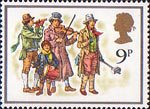 Christmas 1978 9p Stamp (1978) The Waits