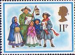 Christmas 1978 11p Stamp (1978) 18th-Century Carol Singers