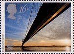 Europa. Engineering Achievements 16p Stamp (1983) Humber Bridge