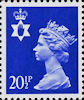 Regional Decimal Definitive - Northern Ireland 20.5p Stamp (1983) Ultramarine