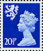 Regional Definitive - Scotland 20.5p Stamp (1983) Ultramarine