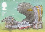 Rudyard Kiplings Just So Stories 1st Stamp (2002) How the Whale got his Throat