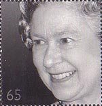 Golden Jubilee 65p Stamp (2002) Queen Elizabeth II, 1996 (Tim Graham)