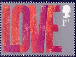 Occasions 2002 1st Stamp (2002) 'LOVE'