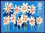 Occasions 2002 1st Stamp (2002) Flowers ('best wishes')