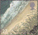 British Coastlines 27p Stamp (2002) Studland Bay, Dorset