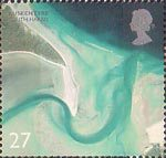 British Coastlines 27p Stamp (2002) Luskentyre, South Harris