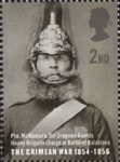 The Crimean War 2nd Stamp (2004) Pte. McNamara, 5th Dragoon Guards, Heavy Brigade Charge, Battle of Balaklava