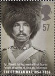 The Crimean War 57p Stamp (2004) Sgt. Powell, 1st Regt of Foot Guards, Battles of Alma and Inkerman