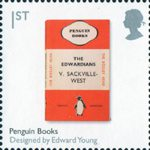Design Classics 1st Stamp (2009) Penguin Books by Edward Young