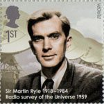 Eminent Britons 1st Stamp (2009) Sir Martin Ryle 1918 - 1984