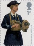 Royal Navy Uniforms 1st Stamp (2009) Second Officer WRNS 1918