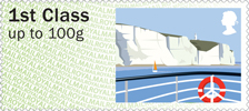 Post & Go : Sea Travel 1st Stamp (2015) Dover