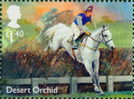 Racehorse Legends £1.40 Stamp (2017) Desert Orchid