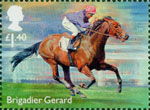 Racehorse Legends £1.40 Stamp (2017) Brigadier Gerard