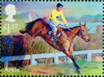 Racehorse Legends £1.57 Stamp (2017) Arkle