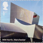 Landmark Buildings 1st Stamp (2017) IWM North, Manchester