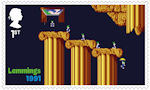 Video Games 1st Stamp (2020) Lemmings