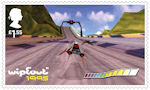 Video Games £1.55 Stamp (2020) Wipeout