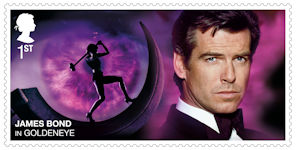 James Bond 1st Stamp (2020) GoldenEye (1995)