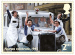 End of the Second World War 2nd Stamp (2020) Nurses celebrate, 1945