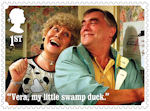 Coronation Street 1st Stamp (2020) Vera and Jack Duckworth