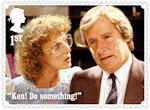 Coronation Street 1st Stamp (2020) Deirdre and Ken Barlow