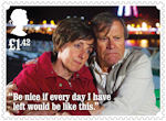 Coronation Street £1.42 Stamp (2020) Hayley and Roy Cropper