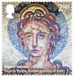 Roman Britain 2nd Stamp (2020) Bignor Mosaic