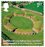 Roman Britain 1st Stamp (2020) Ampitheatre, Caerleon