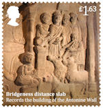 Roman Britain £1.63 Stamp (2020) Bridgeness Distance Slab