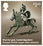 Roman Britain £1.63 Stamp (2020) Warrior God