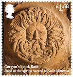 Roman Britain £1.68 Stamp (2020) Gorgons Head