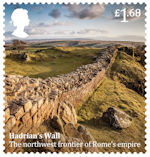 Roman Britain £1.68 Stamp (2020) Hadrians Wall