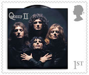 Queen 1st Stamp (2020) Queen II, 1974