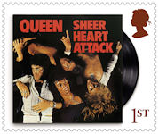 Queen 1st Stamp (2020) Sheer Heart Attack, 1974