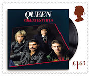Queen £1.63 Stamp (2020) Greatest Hits, 1981
