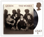 Queen £1.63 Stamp (2020) The Works, 1984