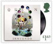Queen £1.63 Stamp (2020) Innuendo, 1991