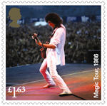 Queen £1.63 Stamp (2020) Magic Tour, 1986