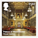 The Palace of Westminster £1.63 Stamp (2020) Royal Gallery