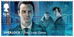 Sherlock  £1.42 Stamp (2020) The Great Game