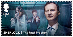 Sherlock  £1.68 Stamp (2020) The Final Problem