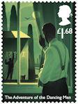 Sherlock  £1.68 Stamp (2020) The Adventure of the Dancing Men