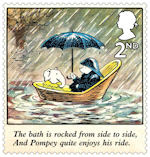 Rupert Bear 2nd Stamp (2020) Ruperts Rainy Adventure