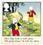 Rupert Bear 1st Stamp (2020) Rupert and the Mares Nest