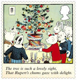 Rupert Bear £1.70 Stamp (2020) Ruperts Christmas Tree